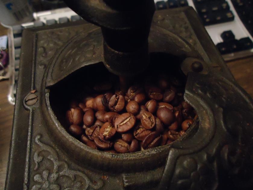 Victorian coffee grinder