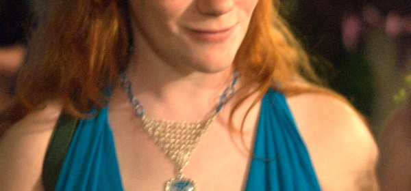 Blue dress at LibertyCon