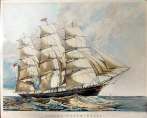 The clipper Thermopylae