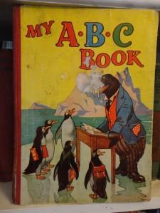 Old alphabet book