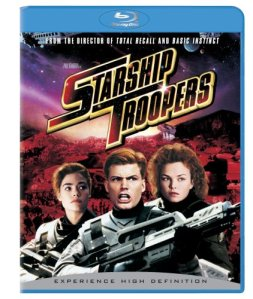 Can somebody help me with a essay question for A movie called starship troopers??