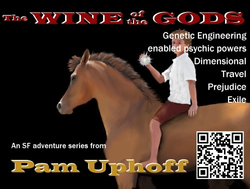 Wine of the Gods Series Postcard