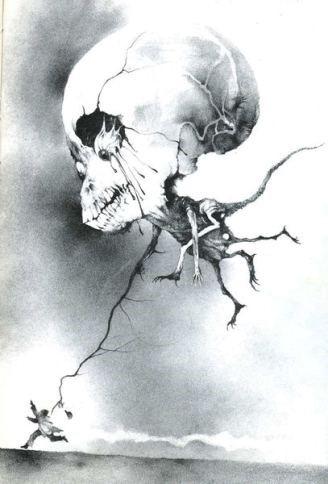 skull balloon