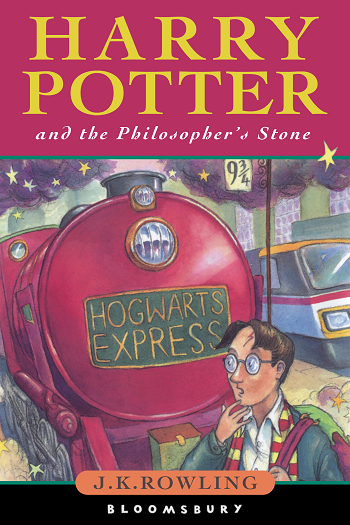 Cover image - Harry Potter and the Philosopher's Stone