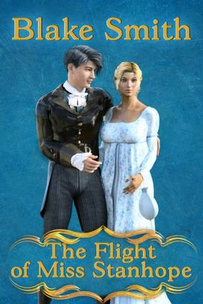 The Flight of Miss Stanhope cover