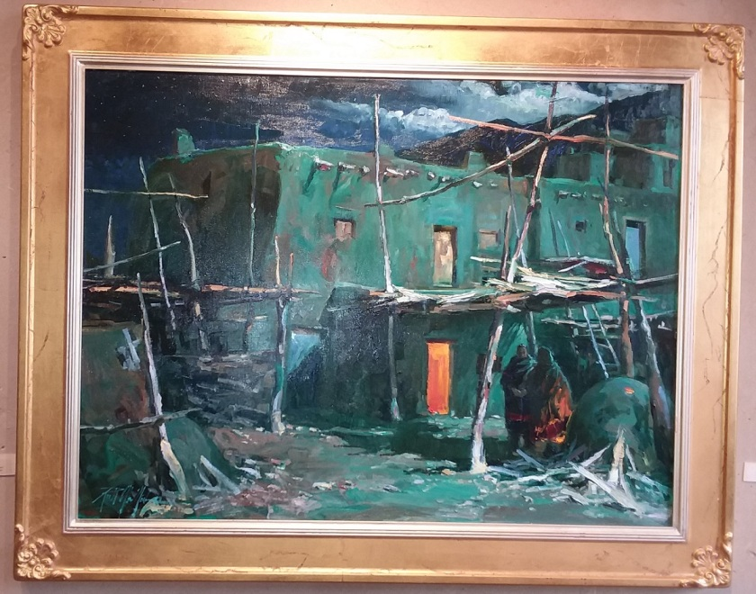 Richard Alan Nichols - Heritage - Taos Pueblo - Small