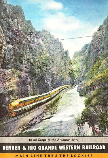 Royal Gorge advertising poster