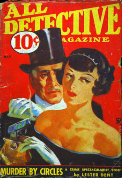 All Detective magazine cover